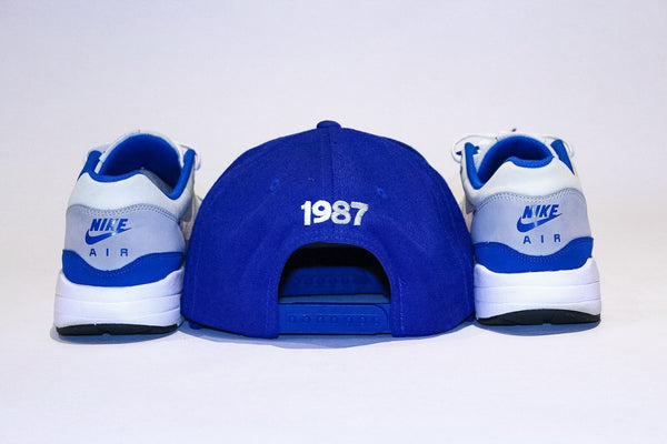Foot-Balla SnapBack Cap OG Royal Blue 1987