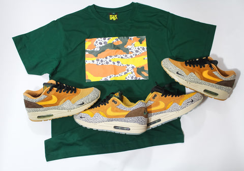 "Foot-Balla Atmos inspired OG Safari print "" Box Camo ""men's & women's"
