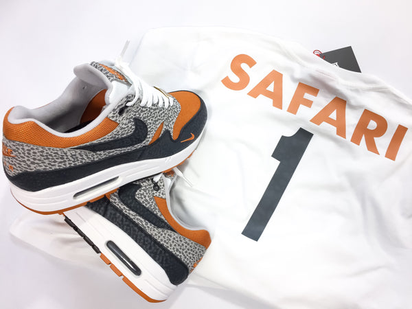 "Foot-Balla Safari print tee ""What the safari"""