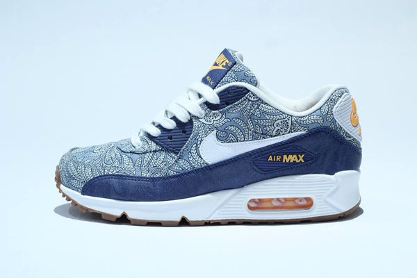 new concept 69c8e b4c9d Nike Air Max 90 Liberty Wmns ... Womens Nike Air Max 1 Liberty Floral Blue  ...