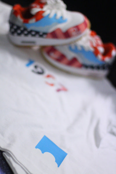 "Foot-Balla (Baby Balla)Parra inspired print tee ""PARRA FNF"" Friends and family"