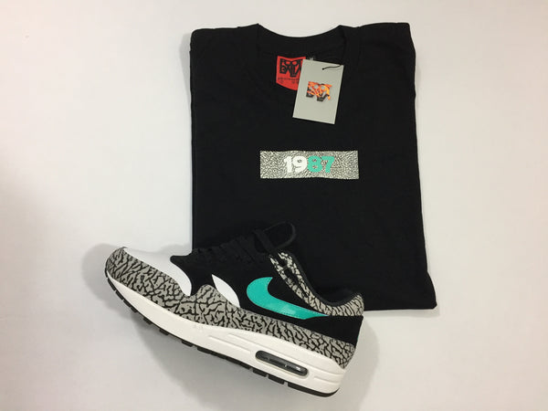 "Foot-Balla T-Shirt - Atmos ""Elephant"" Slim Box Tee 2018"