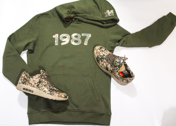 "Foot-Balla German Camo print Hoody "" 🇩🇪 "" men's and women's"