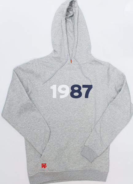 "Foot-Balla Anniversary obsidian 88 Hoody ""1987"" men's and women's"