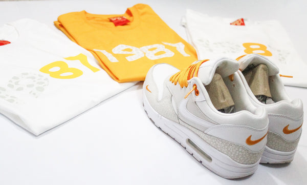 "Foot-Balla T-Shirt - Atmos ""Safari Kumquat"" style 2"