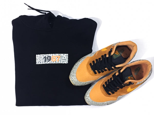 "Foot-Balla Atmos Safari print Hoody ""Box Logo BOGO"" men's and women's"