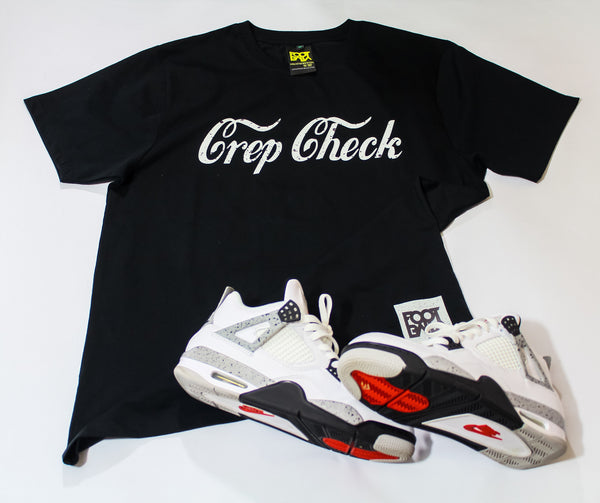 "Foot-Balla tee "" Crep Check "" Cement"
