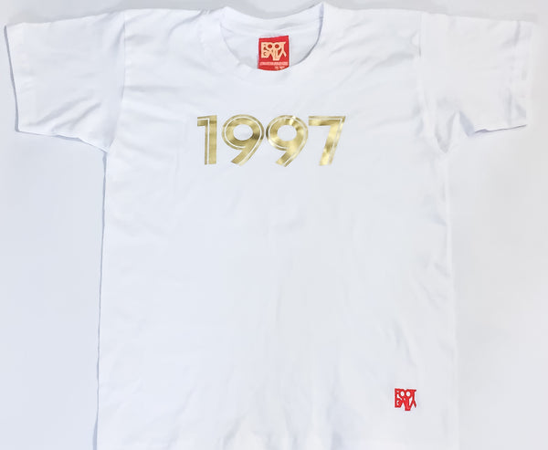 "Young Balla by Foot-Balla ""AM97"" 1997 gold Tee"