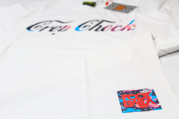 "Foot-Balla Parra inspired print tee "" Crep Check """