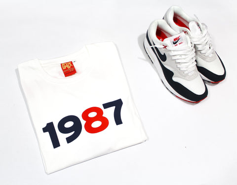 "Foot-Balla T-Shirt ""OG"" OBSIDIAN 30th ANNIVERSARY"