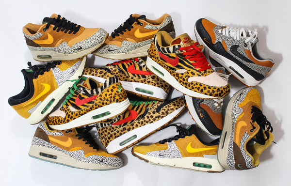 "Foot-Balla Atmos Safari print "" Box Camo ""men's & women's"