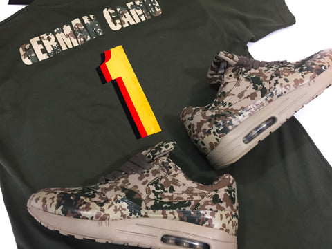 "Foot-Balla T-Shirt - Special projects ""German Camo"""