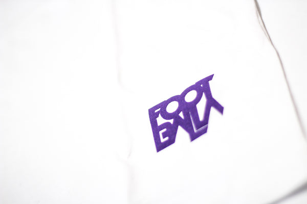 Foot-Balla T-Shirt - grey / purple - Mix n Match
