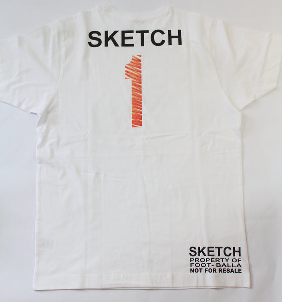 "Foot-Balla T-Shirt ""OG RED SKETCH"" Tee"