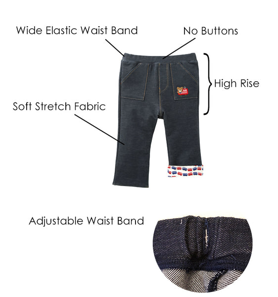 MIKI HOUSE Pants Features