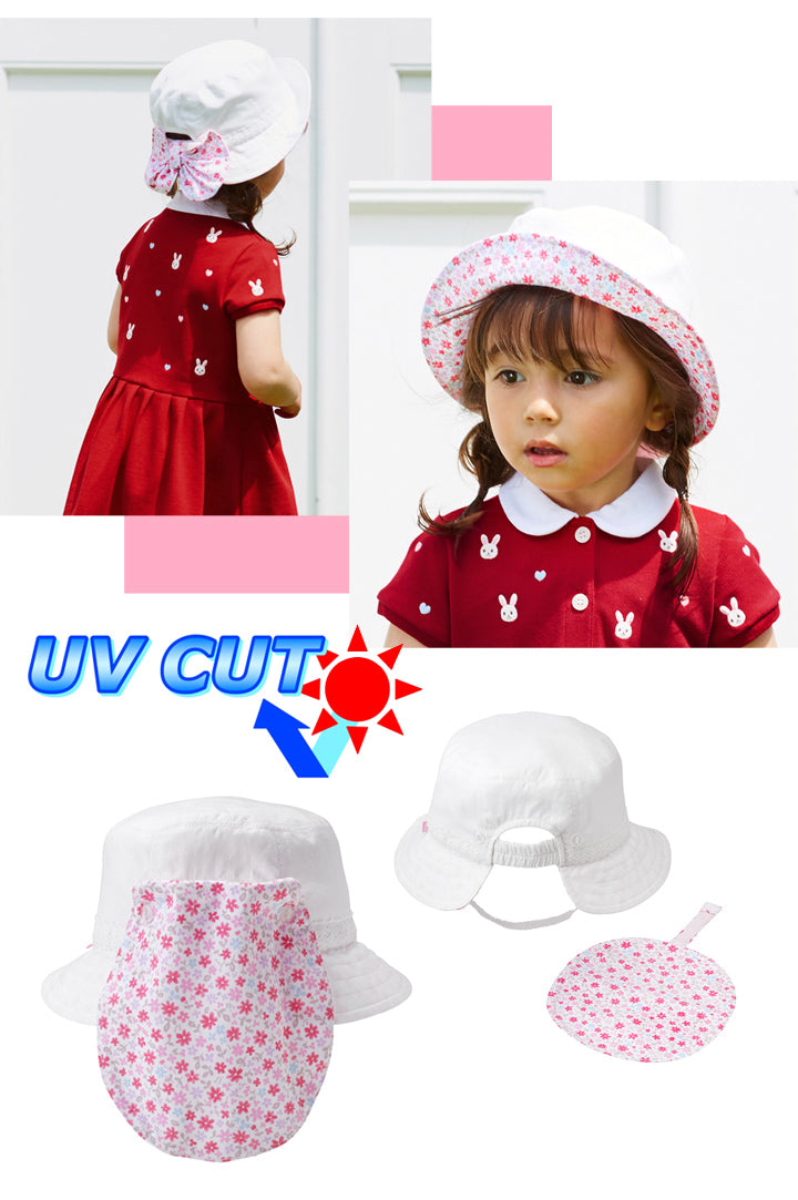 MIKI HOUSE UV Cut Hat Feature