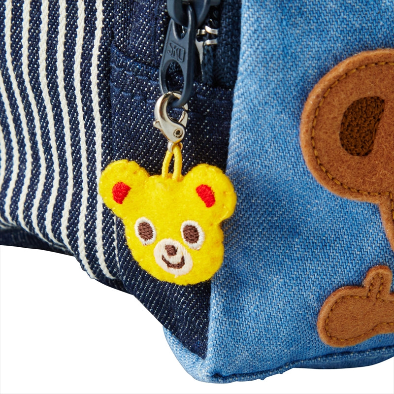 Animal Applique Denim Backpack