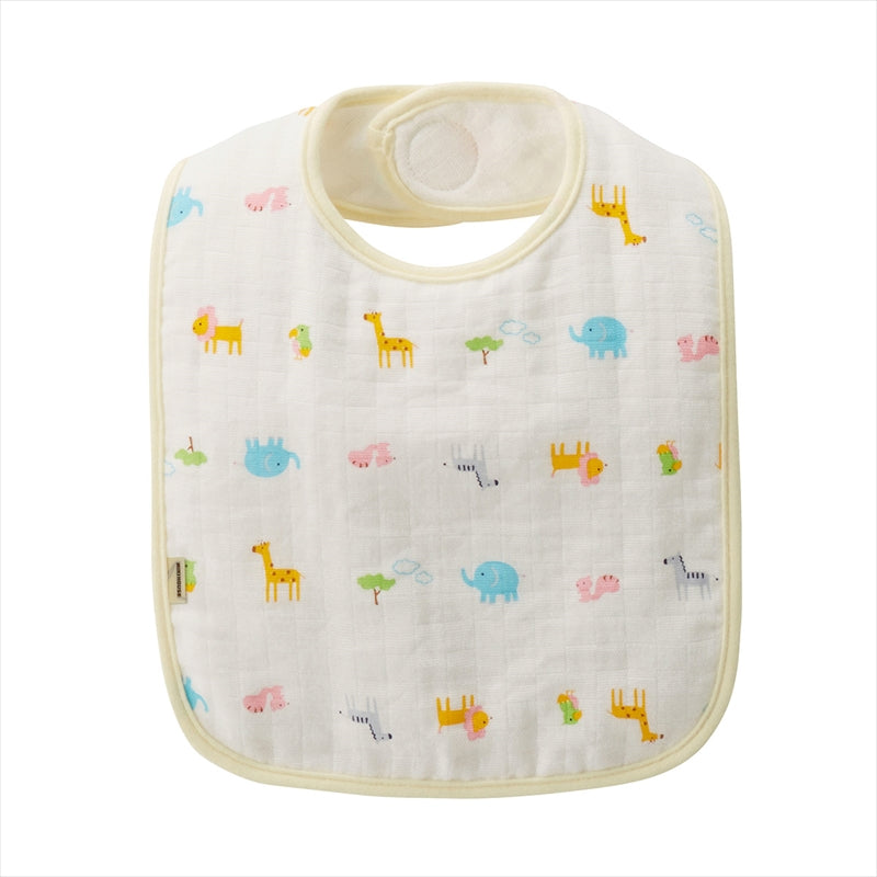 GAUZE BLANKET + WASH TOWEL + BIB SET