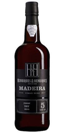 Henriques & Henriques 5yo 'Finest Dry' Sercial Madeira 500ml