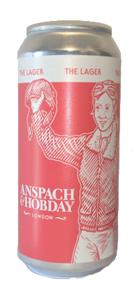 Anspach & Hobday The Lager 440ml Can