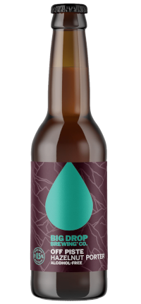 Big Drop Off Piste Hazelnut Porter <0.5% 330ml