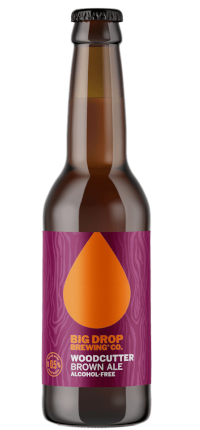 Big Drop Woodcutter Brown Ale <0.5% 330ml