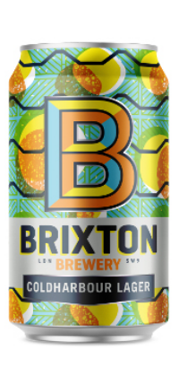 Brixton Coldharbour Lager 330ml Can
