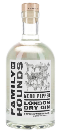 Family of Hounds Nero Pepper Gin 70cl