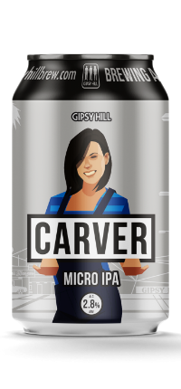 Gipsy Hill Carver Micro IPA 330ml Can