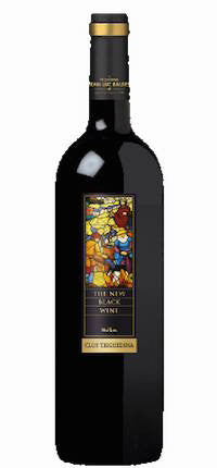 Clos Triguedina 'New Black Wine' 2008