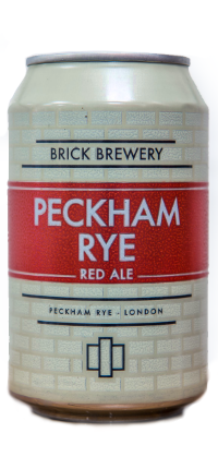 Brick Peckham Rye Red Ale 330ml Can