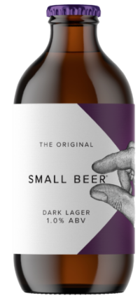 Small Beer Original Dark Lager 1.0%