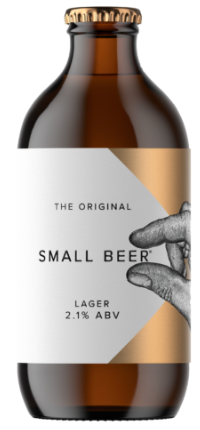 Small Beer Original Lager 2.1%