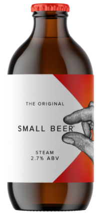Small Beer Original Steam Beer 2.7%