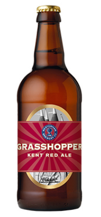 Westerham Grasshopper Red Ale 500ml
