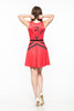 10th Element Red A-Line Dress (LIMITED)