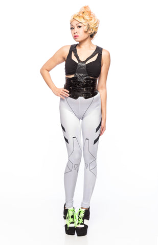 10th Element White Leggings