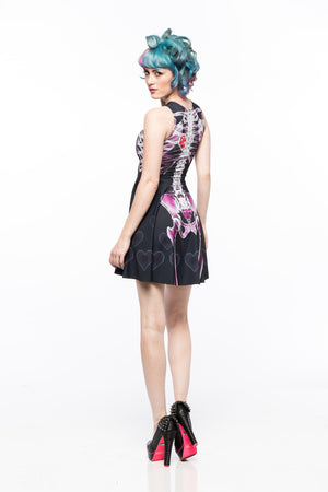 Gamer at Heart (Pink Variant) A-Line Dress