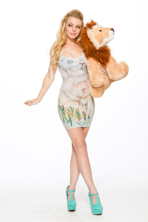 "Camilla d'Errico's ""Hear Danielle Roar"" Dress -  Big Face"