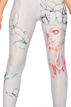 "Camilla d'Errico's ""Strawberry Whispers"" Leggings"