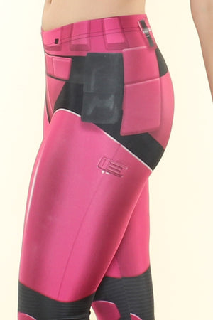 Chaos Pink Leggings