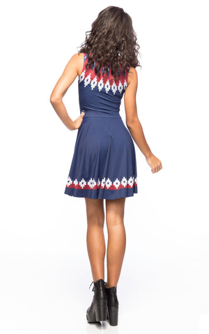 Christmas Sweater A-Line Dress