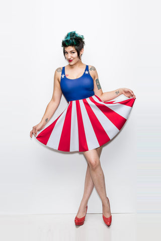 The Patriot Girl Dress - A-Line - Archived