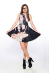 Unicorn Collage A-Line Dress