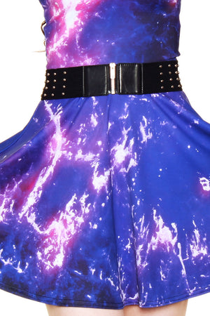 Crab Nebula A-Line Dress