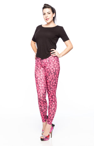 D20 Pink Leggings