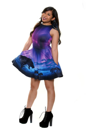 Aurora Plains A-Line Dress