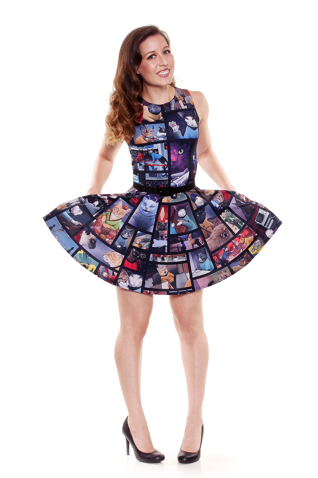 Star Trek™ CATS A-Line Dress