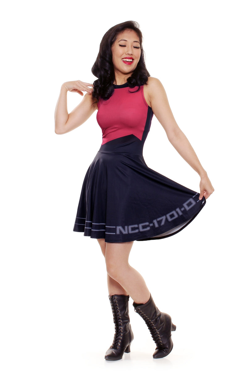 Star Trek™ TNG Starfleet Officer A-Line Dress