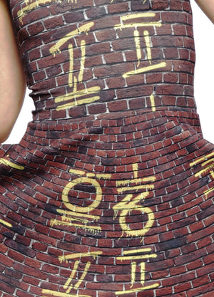 Graffiti A-Line Dress